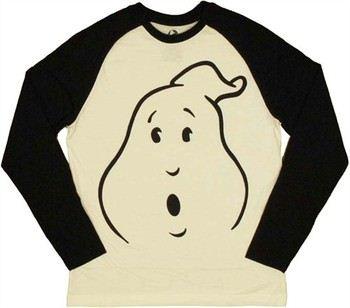 Ghostbusters Ghost Face Raglan T-Shirt