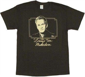 How I Met Your Mother Barney Stinson as Lorenzo von Matterhorn T-Shirt