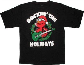 Sesame Street Elmo Rockin' the Holidays T-Shirt