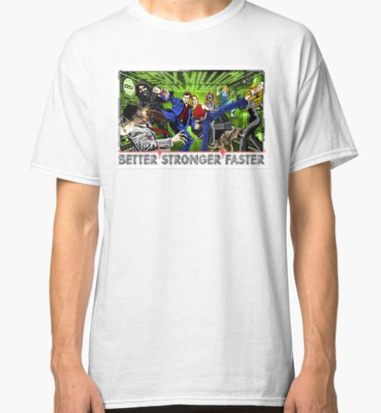 Six Million Dollar Man. Bionic Woman Classic T-Shirt by unclegertrude T-Shirt