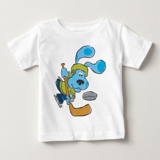 Blue's Clue - Hockey Baby T-Shirt