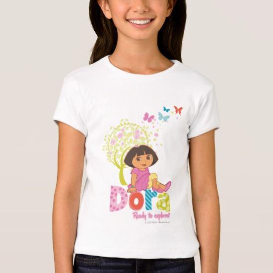 Dora The Explorer | Dora Ready To Explore T-Shirt