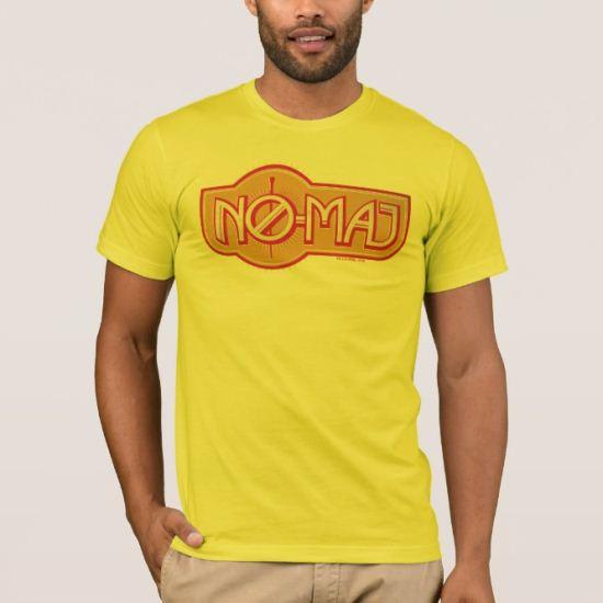 Red & Yellow No-Maj Badge T-Shirt