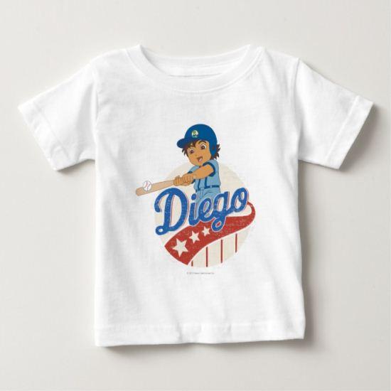 Go Diego Go!   Swing, Diego, Swing! Baby T-Shirt