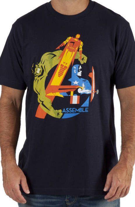 Assemble Avengers Shirt