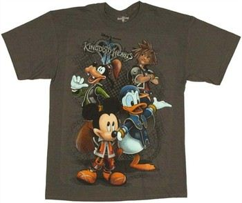 Kingdom Hearts Hero Group T-Shirt