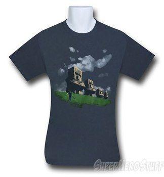 Minecraft Statues T-Shirt