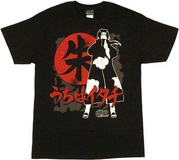 Naruto Shippuden Itachi with Symbol T-Shirt