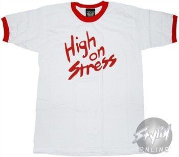 Revenge of the Nerds High on Stress T-Shirt