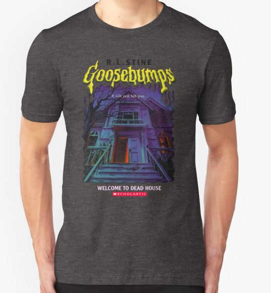 'Goosebumps Welcome to the Dead House' T-Shirt by nicolascagedesu T-Shirt
