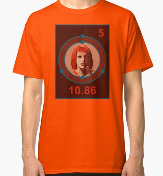 THE FIFTH ELEMENT Classic T-Shirt by Sasha Rosser T-Shirt