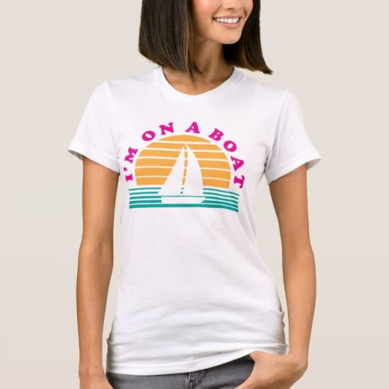 The Lonely Island On A Boat T-Shirt
