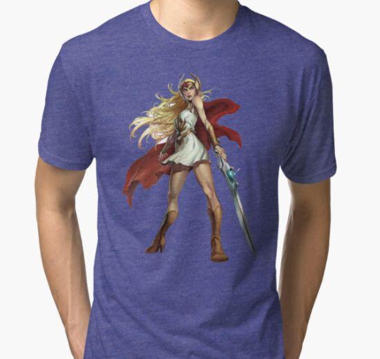 she ra princess Tri-blend T-Shirt by FLORENCEWILLIAM T-Shirt