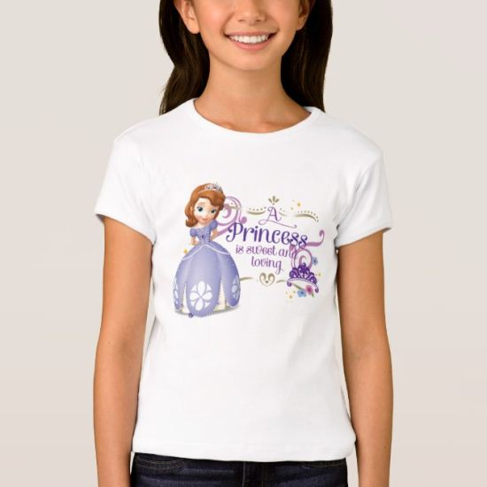 A Princess is Sweet and Loving T-Shirt