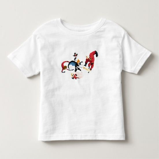 The Incredibles' Fighting Against Syndrome Disney Toddler T-shirt