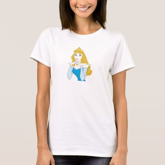 Sleeping Beauty Princess Aurora posing Disney T-Shirt