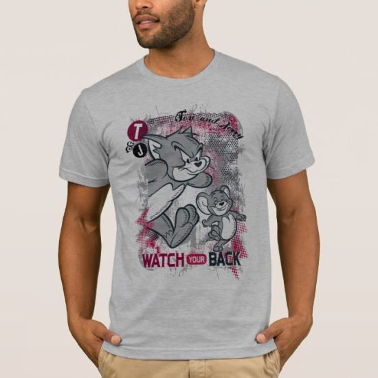 Tom and Jerry Watch Your Back T-Shirt