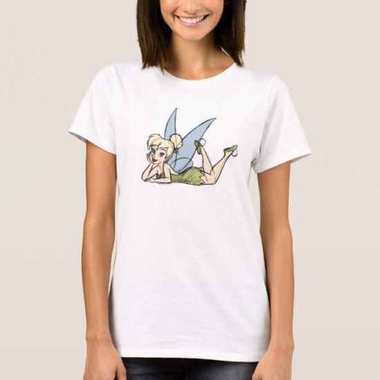 Tinker Bell Sketch Disney T-Shirt