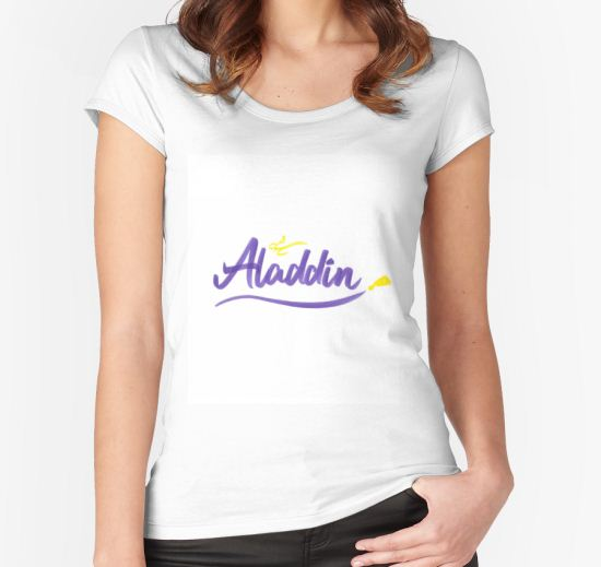 Aladdin Women's Fitted Scoop T-Shirt by Matt Tam T-Shirt