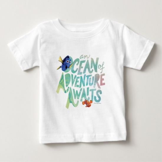 Dory & Nemo | An Ocean of Adventure Awaits Baby T-Shirt