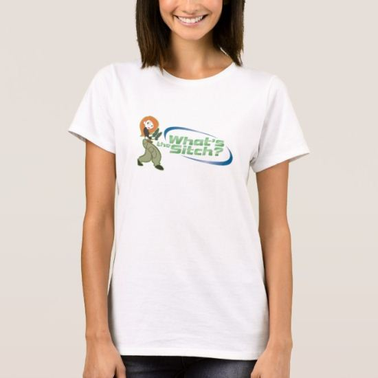 Kim Possible Kim What's the Sitch Logo Disney T-Shirt