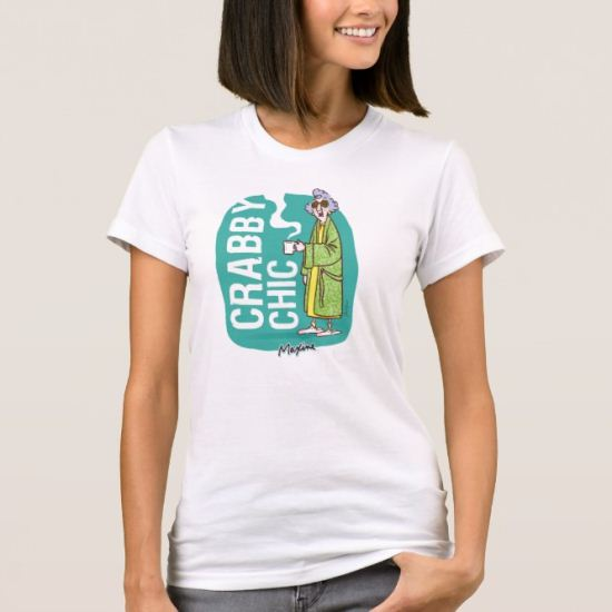 Crabby Chic in Bathroom Robe T-Shirt