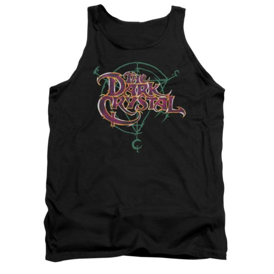 The Dark Crystal Tank Top Symbol Logo Black Tanktop