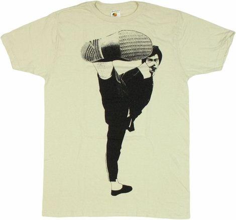 Bruce Lee Side Kick T Shirt Sheer