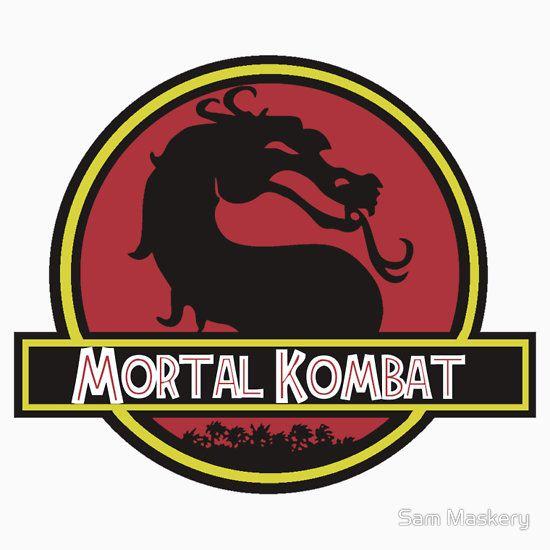 Jurassic Kombat by Sam Maskery T-Shirt