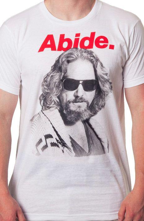 Abide Dude Big Lebowski Shirt