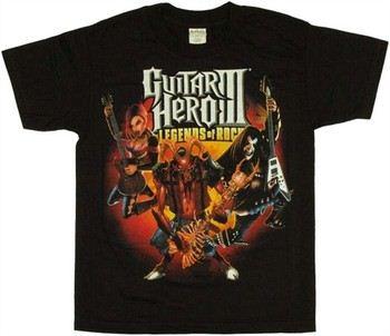 Guitar Hero Trio with Demon Youth T-Shirt