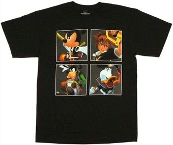 Kingdom Hearts Four King Pictures T-Shirt