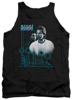 Tank Top: Miami Vice - Looking Out