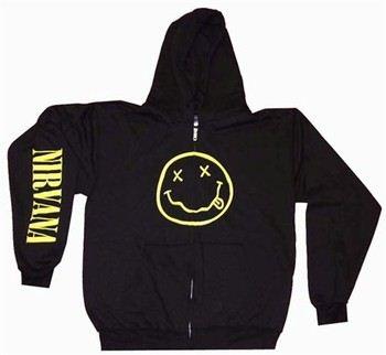 Nirvana Hooded Zipper Sweatshirt
