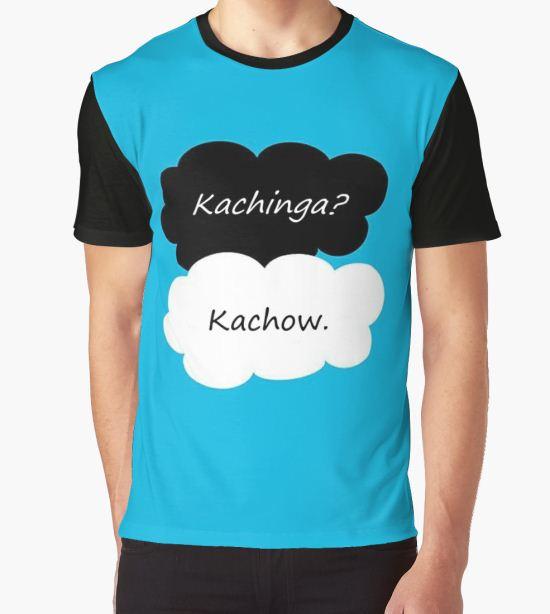'Kachinga Kachow TFIOS' Graphic T-Shirt by GothLlama T-Shirt