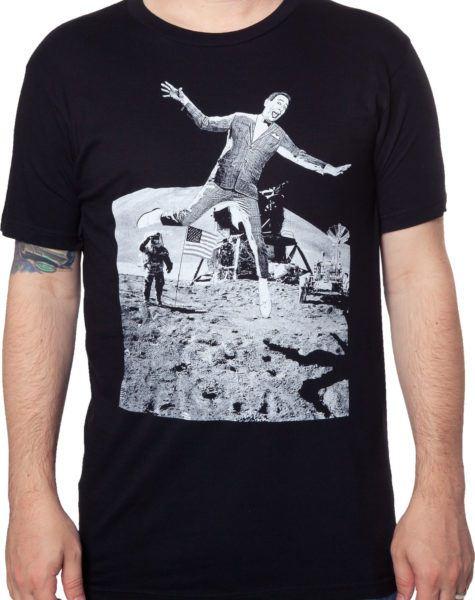 Pee-Wee Herman Moon Landing T-Shirt