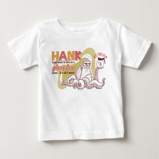 Hank | Live in a Glass Box Alone Baby T-Shirt