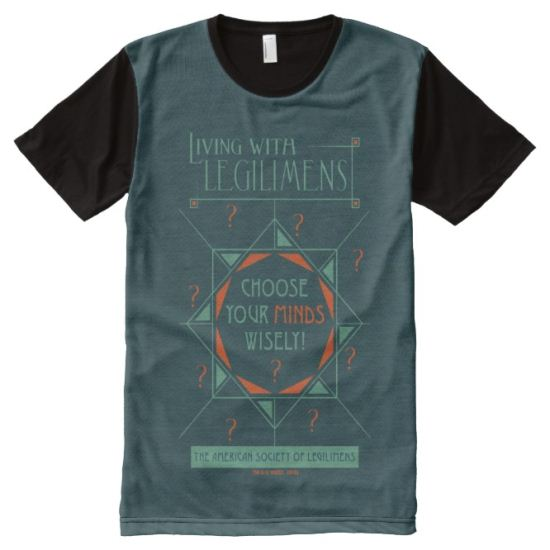 Choose Your Minds Wisely - Legilimens Poster All-Over Print Shirt