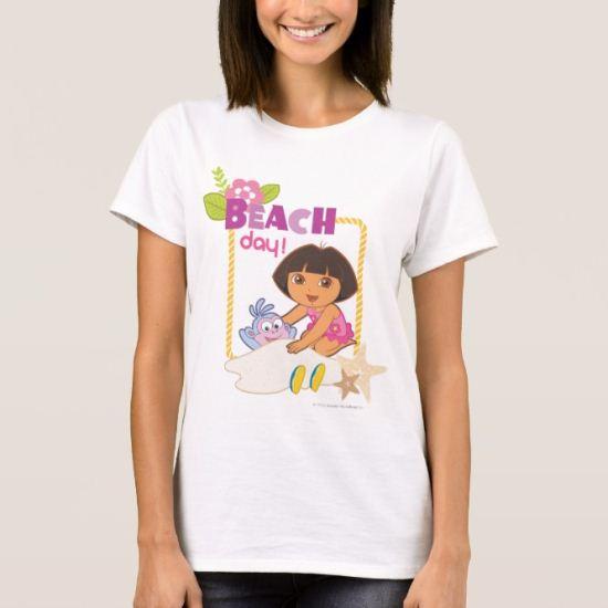 Dora The Explorer | Beach Day! T-Shirt
