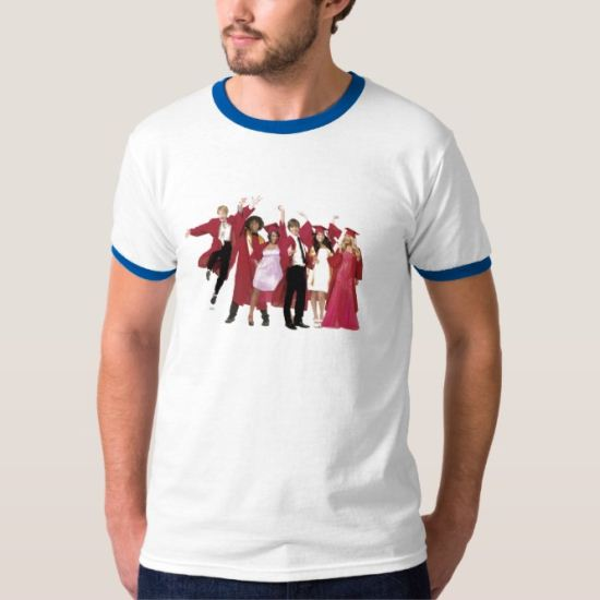 High School Musical 3 Graduation Photo Disney T-Shirt