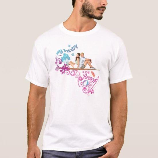 Mack & Brady - My Heart is at the Beach T-Shirt