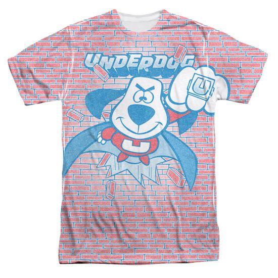 Underdog Burst Sublimation Shirt