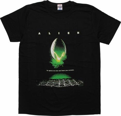 Alien Movie Poster T-Shirt Sheer