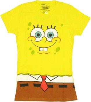 Spongebob Squarepants Costume Baby Doll Tee
