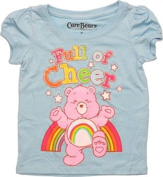 Care Bears Cheer Bear Full of Cheer Puff Sleeve Toddler T-Shirt