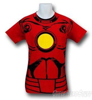 Iron Man Vintage Costume 30 Single T-Shirt