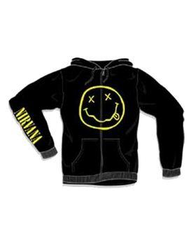 Nirvana Smile Men's Hoodie