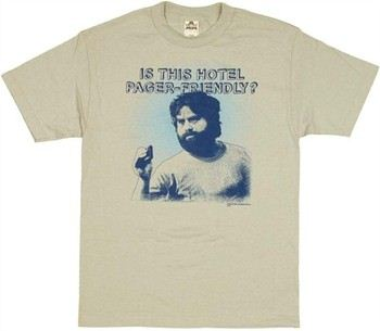 The Hangover Is This Hotel Pager Friendly T-Shirt