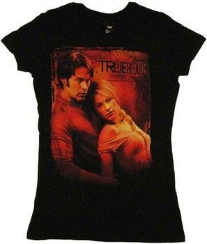 True Blood Sookie Bill Couple Baby Doll Tee