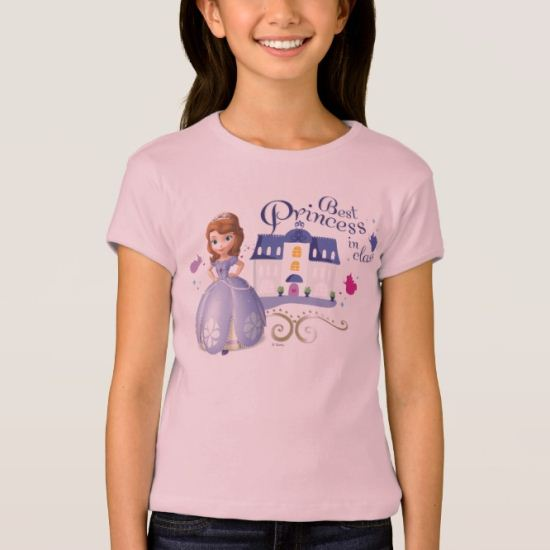 Sofia: Best Princess in Class T-Shirt